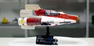 LEGO Star Wars A-Wing Starfighter UCS Designer Video