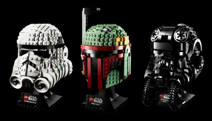 LEGO Star Wars Helmet Collection (pre-order)