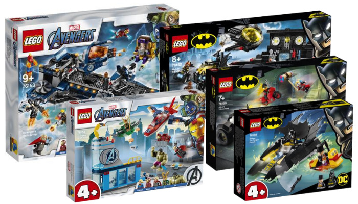 LEGO Super Heroes zomer 2020 sets