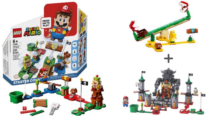 LEGO Super Mario Pre-order actie