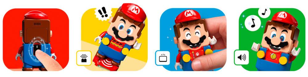 LEGO Super Mario functions