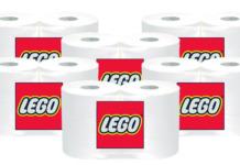 LEGO Iconic Toilet Paper