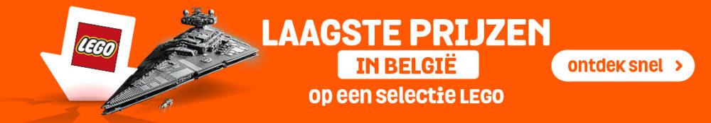 Laagste LEGO prijzen Belgie