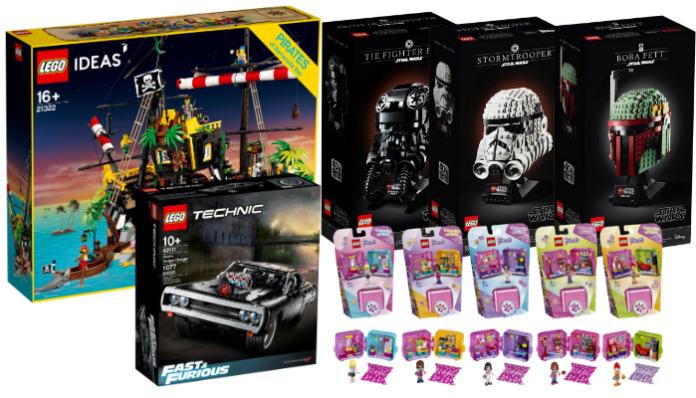 Nieuwe LEGO sets april 2020