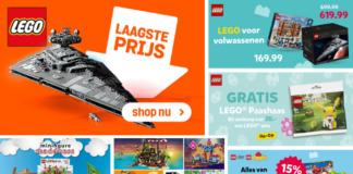 Overzicht LEGO aanbiedingen april 2020
