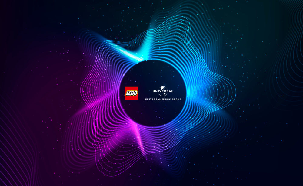 The LEGO Group en Universal Music Group producten in 2021