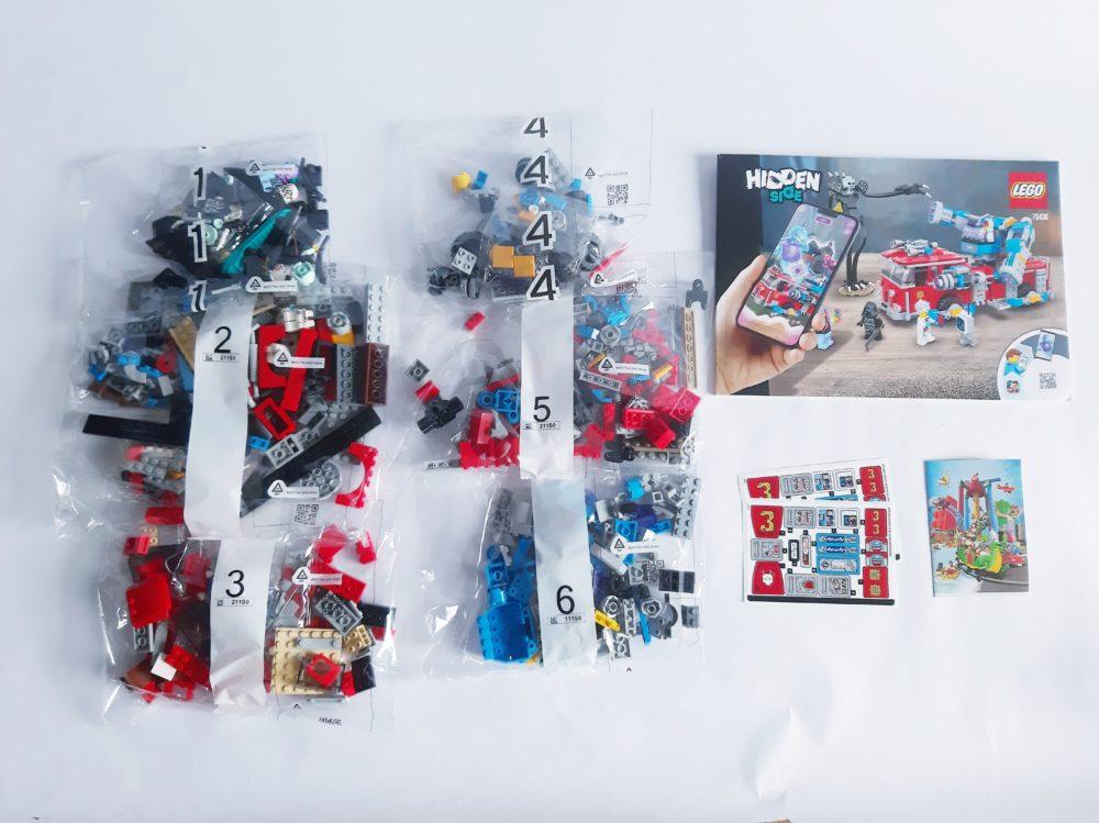 LEGO Hidden Side 70436 Phantom Fire Engine 3000
