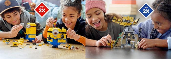 Dubbele LEGO VIP punten op LEGO sets