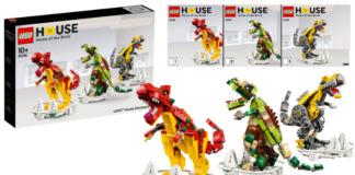 Instructies LEGO 40366 LEGO House Dinosaurs