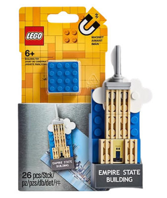 LEGO 854030 Empire State Buidling Magnet