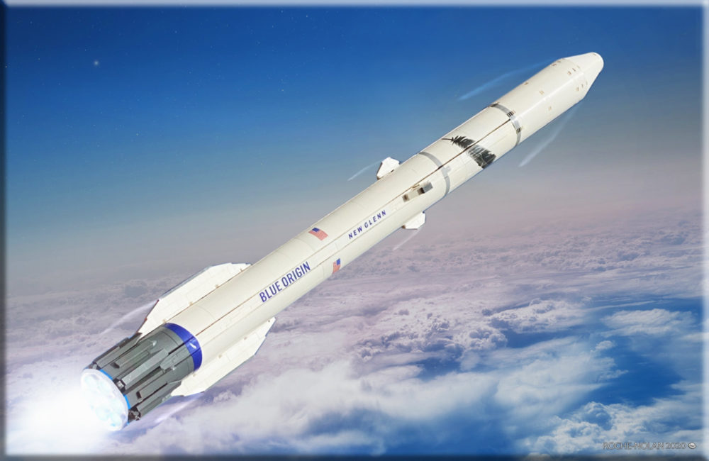 LEGO Ideas Blue Origin New Glenn Rocket
