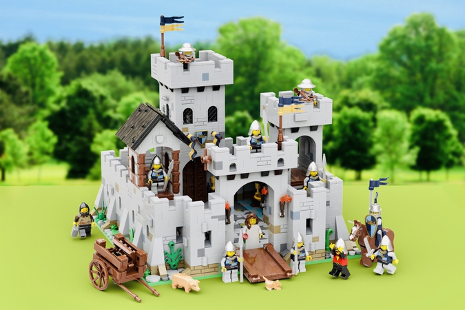 LEGO Ideas Princess June's Castle