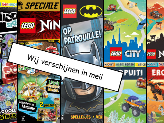 LEGO Magazines en boeken mei 2020