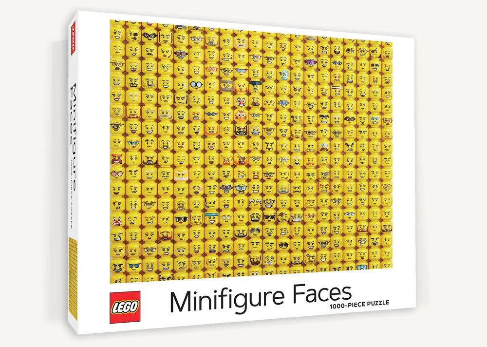 LEGO Minifigure Faces Puzzle