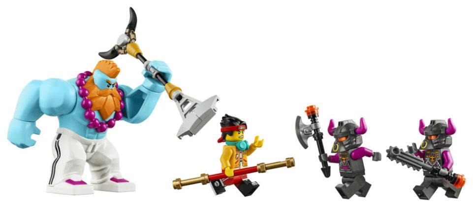 LEGO Monkie Kid 80007 Iron Bull Tank