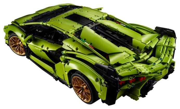LEGO Technic 42115 Lamborghini Sián FKP 37