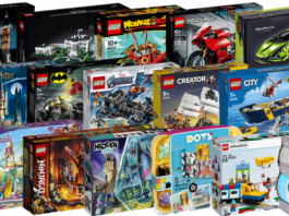 Nieuwe LEGO sets juni 2020